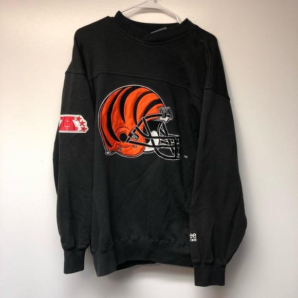 vintage bengals sweatshirt